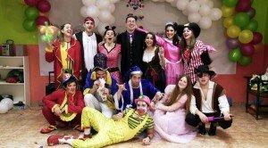 Grupo de animadores de fiestas infantiles Bilbao