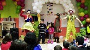 Payasos para fiestas infantiles Bilbao