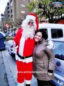 Papá Noel a domicilio con su visita en Bilbao
