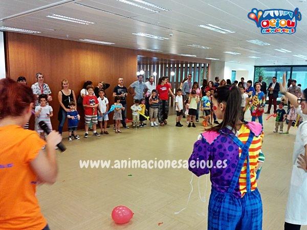 Fiestas de cumpleaños infantiles en Bilbao