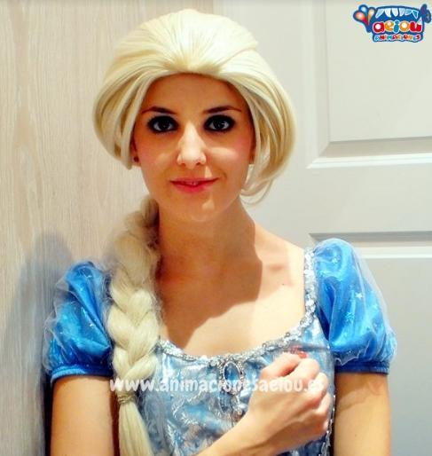 Animaciones para fiestas Frozen en bilbao