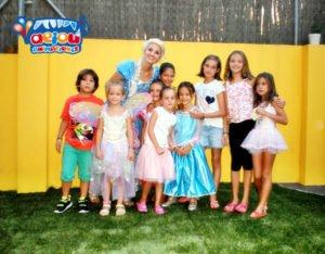 Animaciones para fiestas tematicas infantiles Frozen en Bilbao