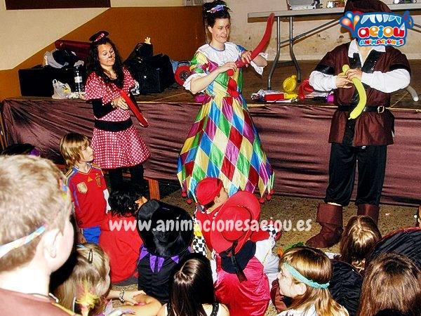 Animaciones para fiestas temáticas con Piratas en Bilbao