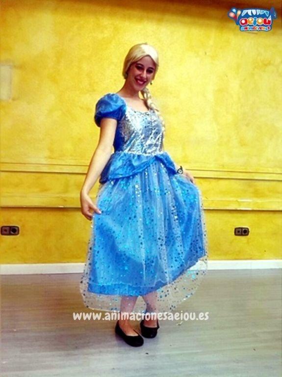Fiestas de cumpleaños infantiles temáticas de princesas en Bilbao
