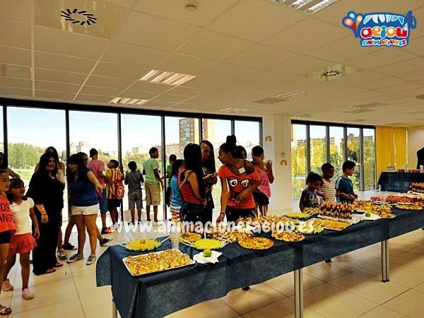 Catering para fiestas infantiles en Bilbao