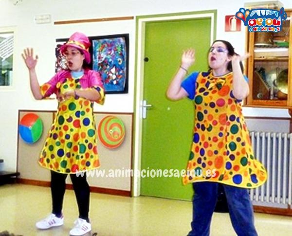 Animaciones para fiestas de cumpleaños infantiles en Barakaldo