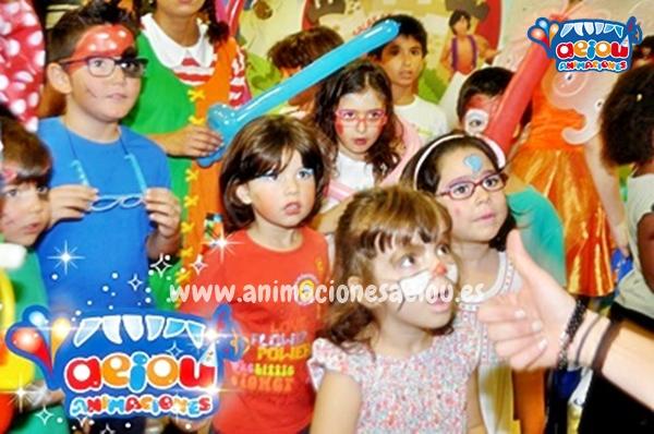 Animaciones para fiestas de cumpleaños infantiles en Leioa