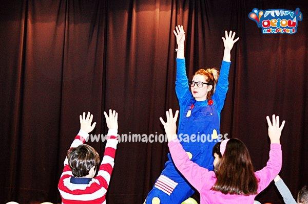 Animaciones para fiestas de cumpleaños infantiles en Santurtzi