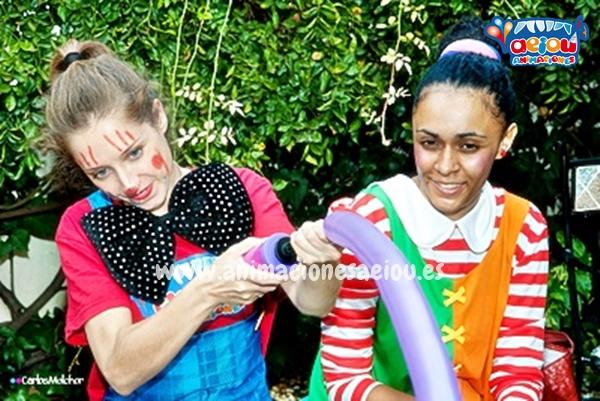 Animaciones para fiestas de cumpleaños infantiles y comuniones en Basauri