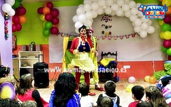 Animaciones para fiestas de cumpleaños infantiles y comuniones en Leioa