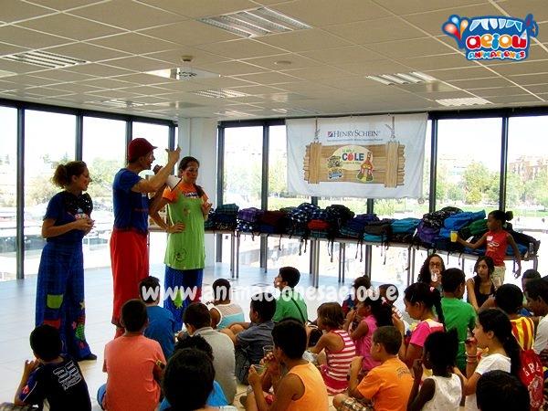 Animaciones para fiestas de cumpleaños infantiles y comuniones en Santurtzi