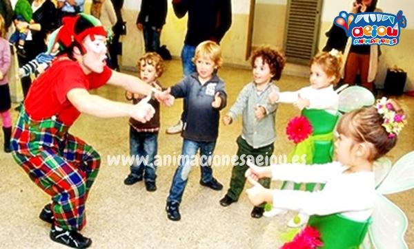 Animaciones para fiestas de cumpleaños infantiles y comuniones en Vizcaya