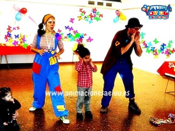 Animaciones para fiestas infantiles en Barakaldo