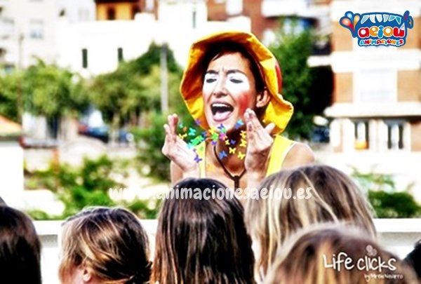 Animaciones para fiestas infantiles en Getxo