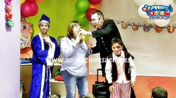 Magos para fiestas infantiles en Alava