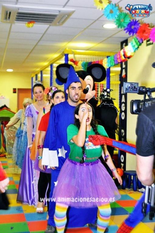 Magos para fiestas infantiles en Basauri