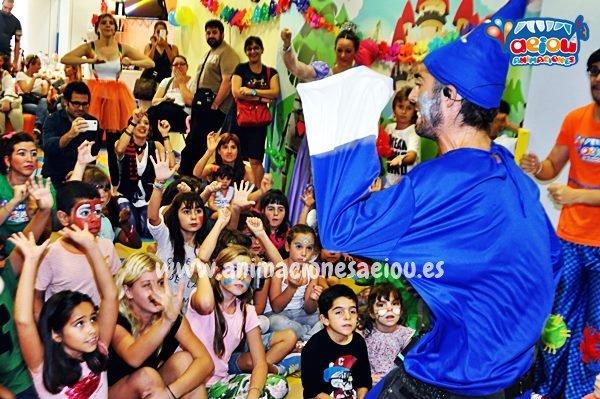 Magos para fiestas infantiles en Portugalete