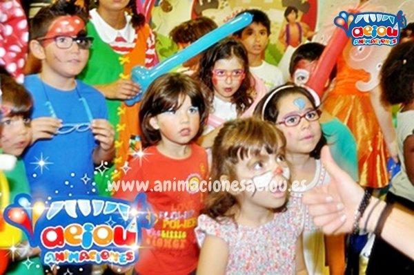 Animaciones para fiestas de cumpleaños infantiles y comuniones en Erandio