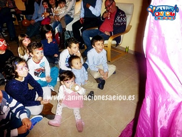 Animaciones de fiestas infantiles en Erandio