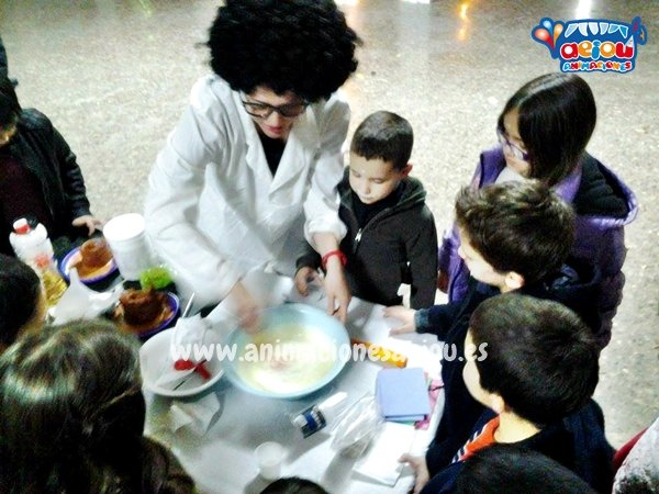 Animaciones para fiestas de cumpleaños infantiles y comuniones en Galdakao