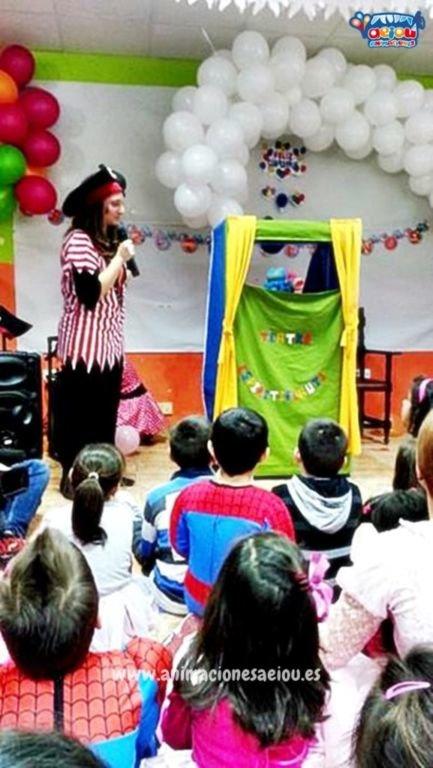 Animaciones de fiestas infantiles en Bermeo