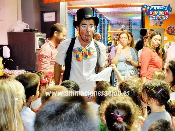 Animación de cumpleaños infantiles en Ermua