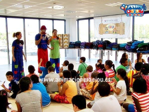 Animaciones de fiestas infantiles en Llodio