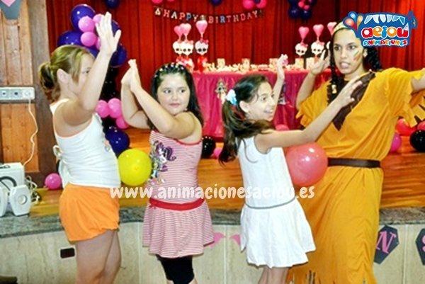 Animación de cumpleaños infantiles en Mungia