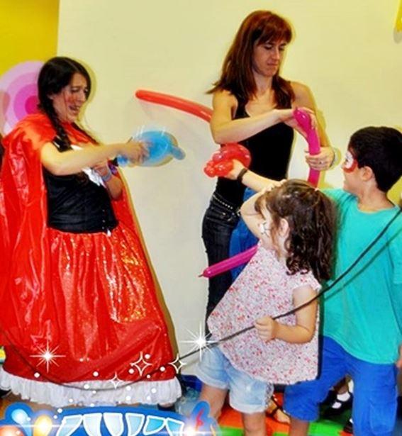Animadores para fiestas infantiles en Astillero