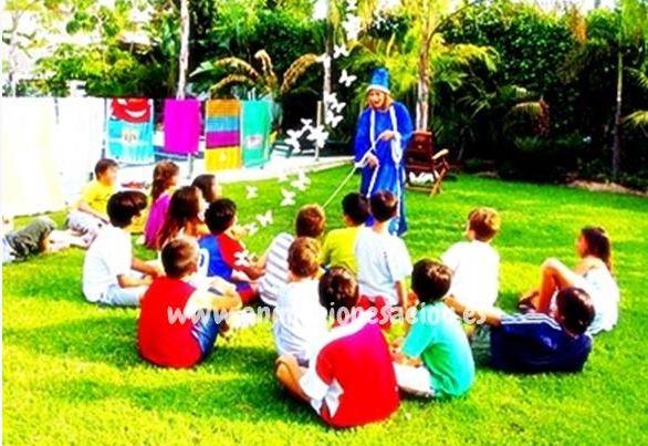 Magos para fiestas infantiles en Torrelavega