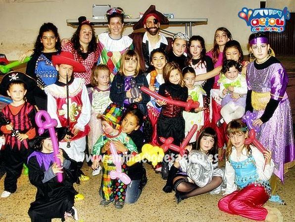 Payasos para fiestas infantiles en Astillero
