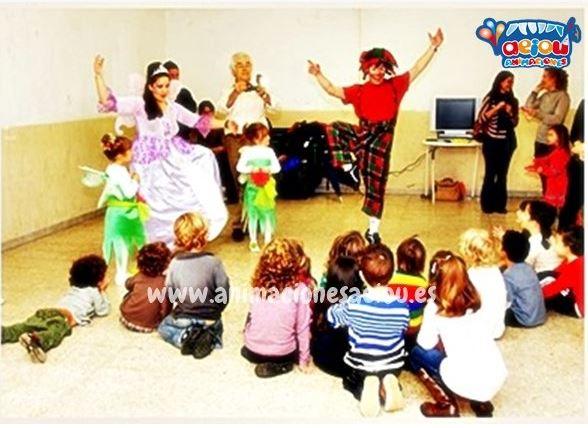 Payasos para fiestas infantiles en Laredo